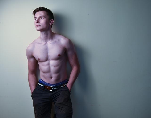 sexy muž