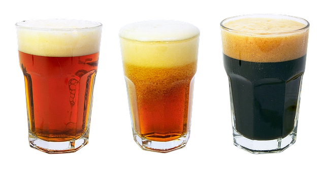Tři druhy piva