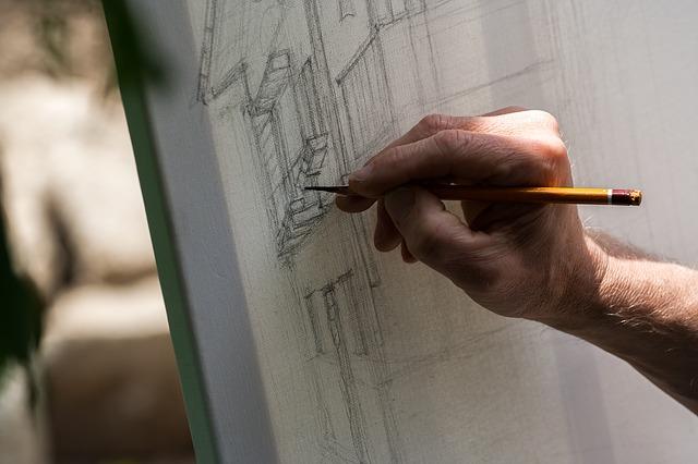 kreslení tužkou