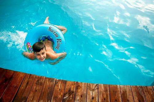kluk kruh bazén